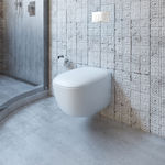 Contura Wall Hung Invisi Series II® Toilet Suite ID, IC, IW