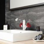 Industrie Basin Mixer Red