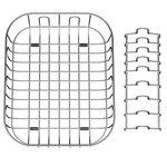 Quatro Stainless Steel Draining Basket